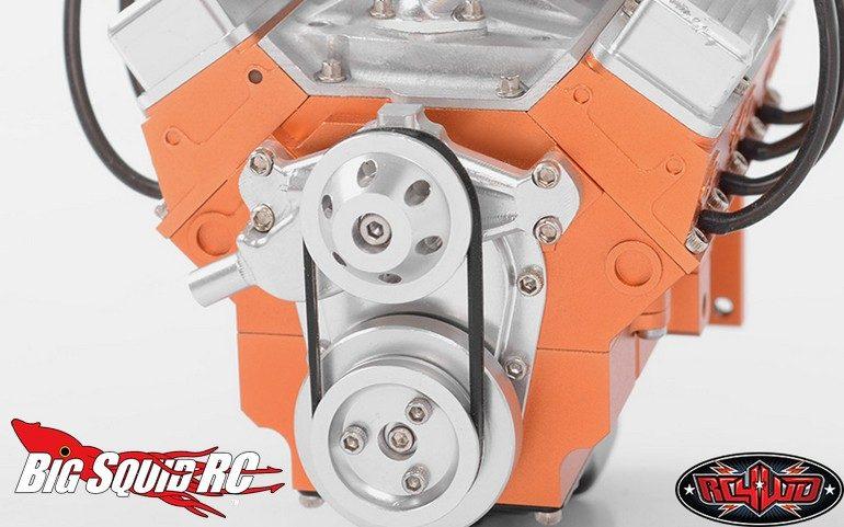 RC4WD V8 Accessories