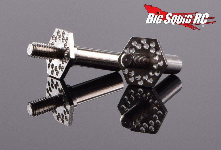 RDRP B6 Titanium Front Axle Set