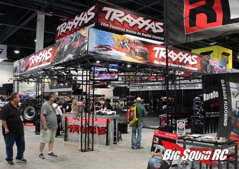 SEMA Traxxas Booth