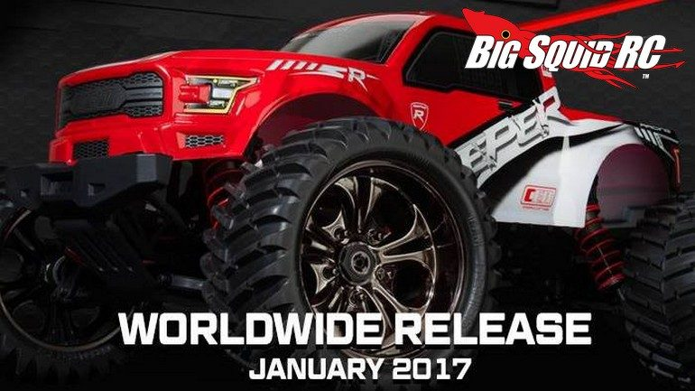 Teaser Cen Racing Reeper Monster Truck Big Squid Rc News