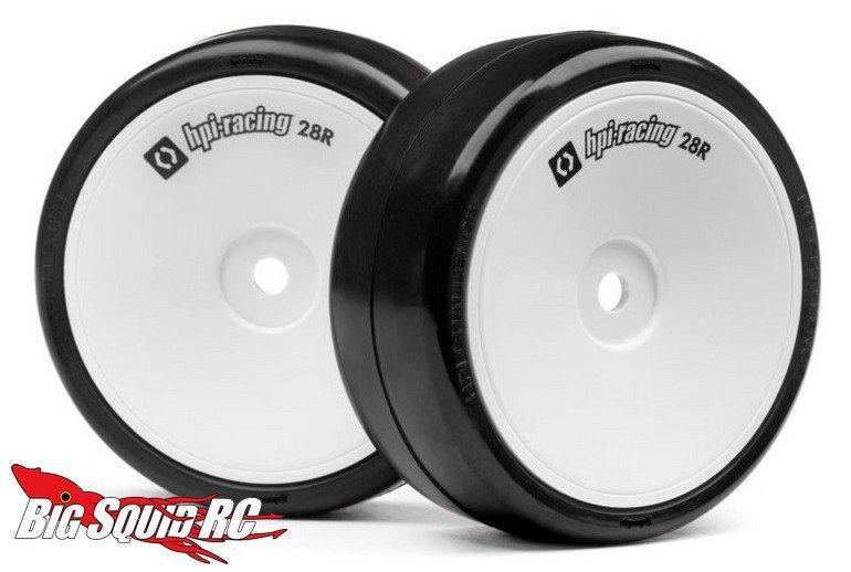 HPI Challenge 28R wheel tire set