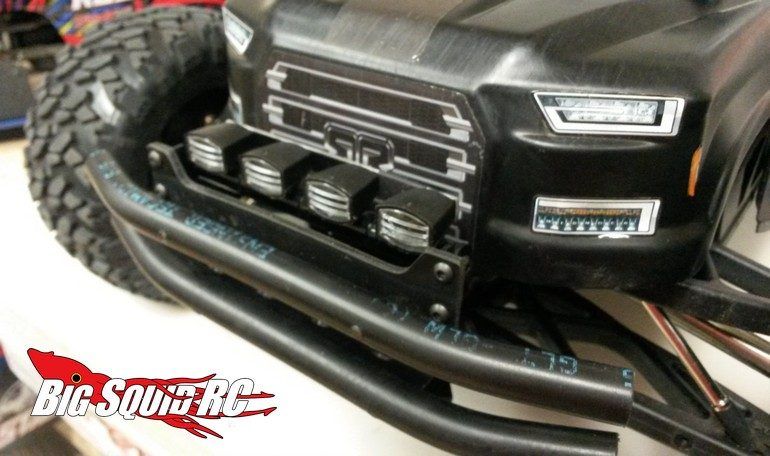 TBR XV4 FRONT BUMPER W/LED LIGHTS
