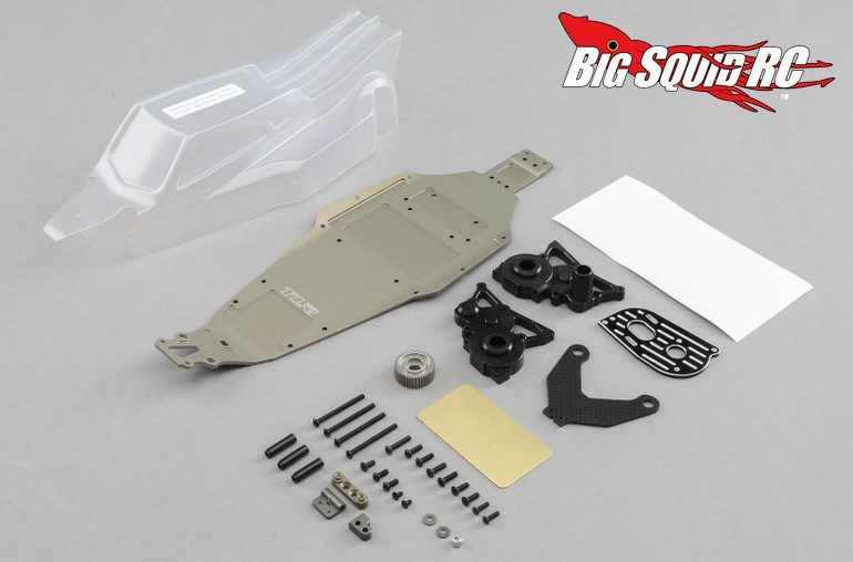 TLR 22 3.0 Dirt Laydown Transmission Conversion Kit
