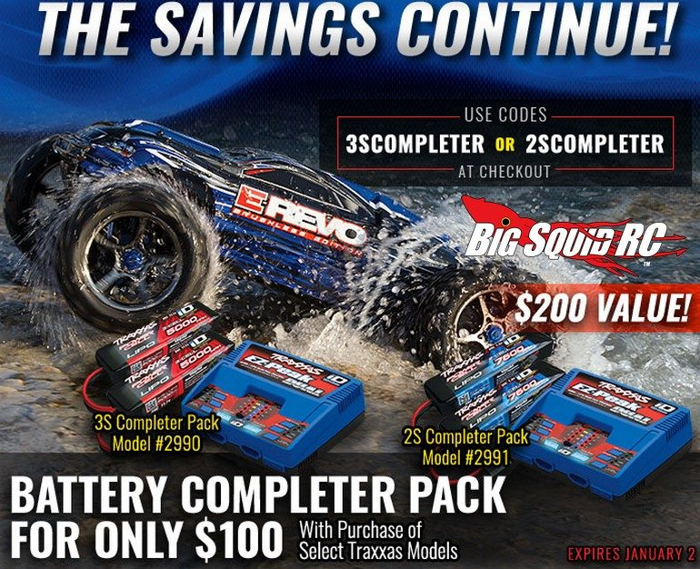 Traxxas Special Savings