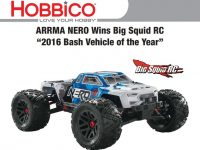 ARRMA Nero 2016 Big Squid Bash Vehicle Of The Year