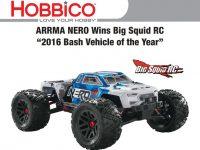 ARRMA Nero 2016 Big Squid Bash Vehicle Of The Year