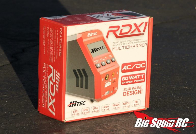 Hitec RDX1 Charger Review