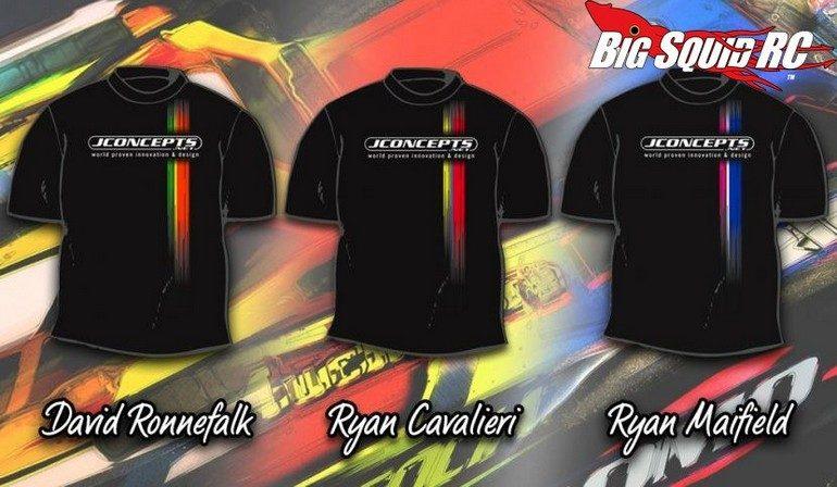 JConcepts New Release – Driver Commemorative Racing Stripe T-Shirts