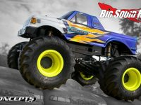 JConcepts Yellow Tribute Monster Truck Wheel