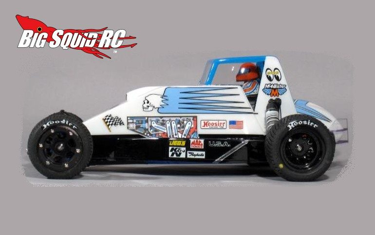 McALLISTER RACING Sprint Body 2WD Slash