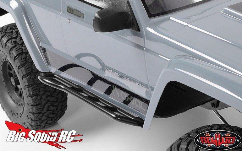 RC4WD Tough Armor Side Steel Sliders SCX10-II