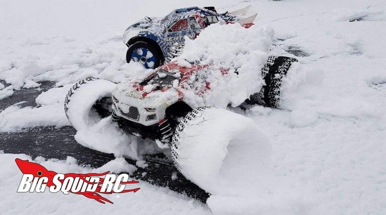 Snow Blasting With ARRMA RC