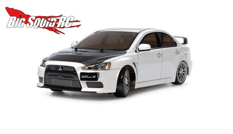 Tamiya Mitsubishi Lancer Evolution X (TT-02D) Drift Spec