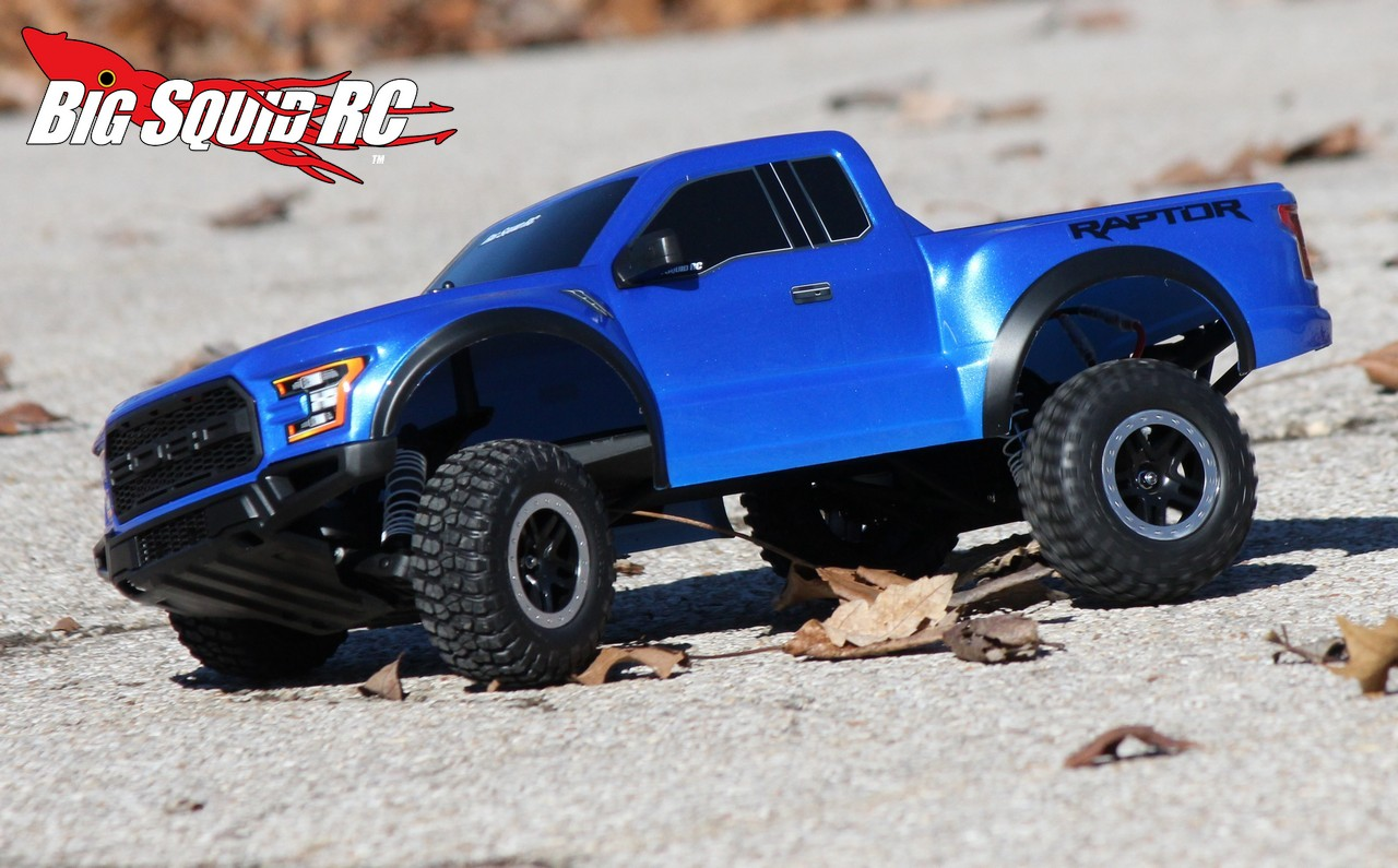 Traxxas 2017 Ford F 150 Raptor Review Big Squid Rc Rc