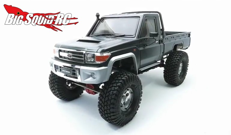 Video Building The Killerbody Rc Toyota Land Cruiser 70