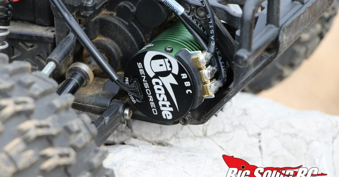 Castle 1406 Sensored Brushless Motor Review