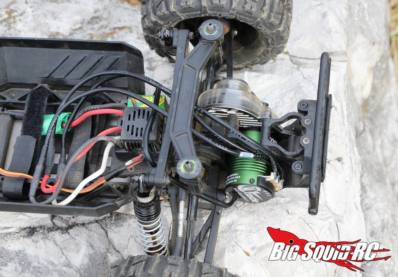 Castle 1406 Sensored Brushless Motor Review Big Squid Rc