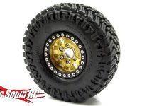 Gear Head RC 1.9 Gold Tombstone Wheels