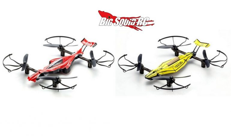 Kyosho Red Yellow Drone Racer