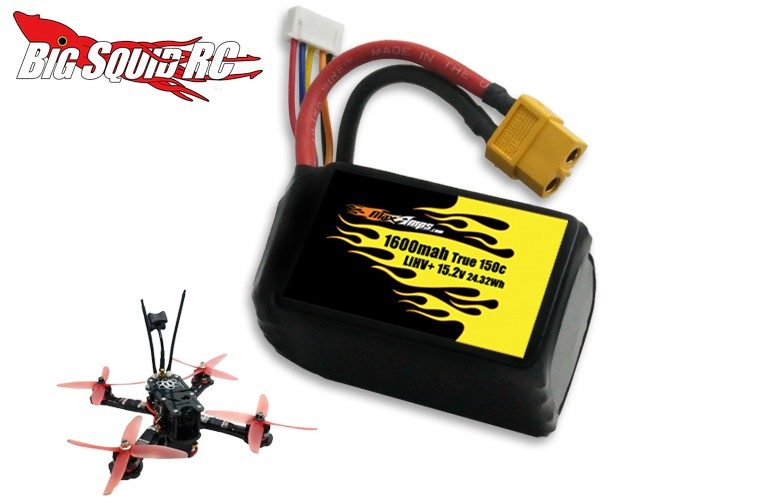 MaxAmps LiHV Quadcopter Race Packs