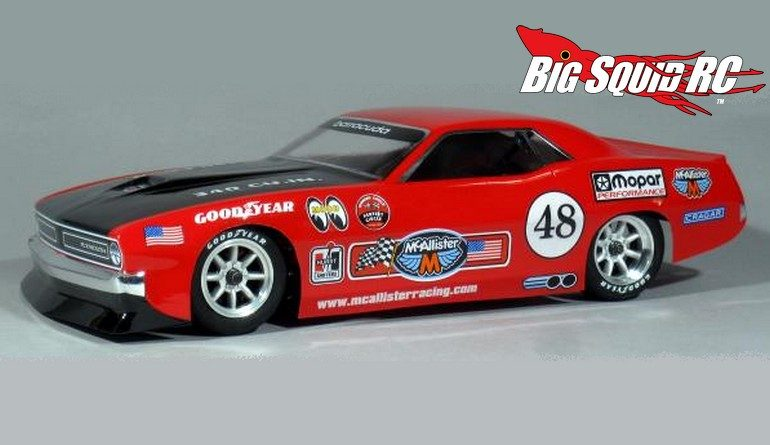 McAllister Racing AAR Cuda VTA Body