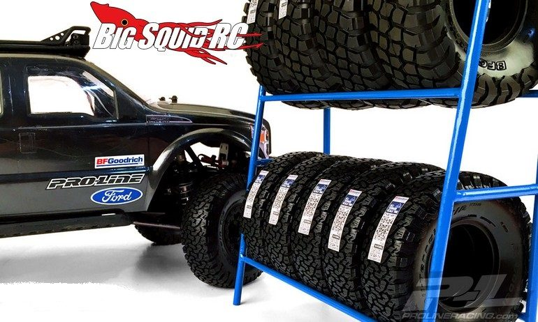 Pro Line Scale Tire Rack Big Squid Rc Rc Car And Truck News