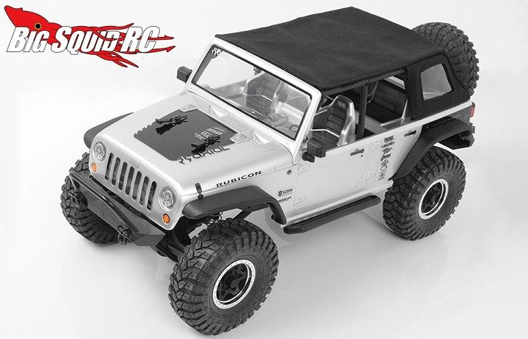 RC4WD Rampage Soft Top Axial Jeep Wrangler