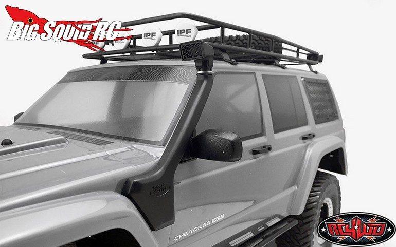 RC4WD Safari Snorkel Axial SCX10 XJ