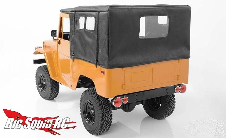 RC4WD Tough Armor Metal Tube Cage Soft Top G2 Cruiser
