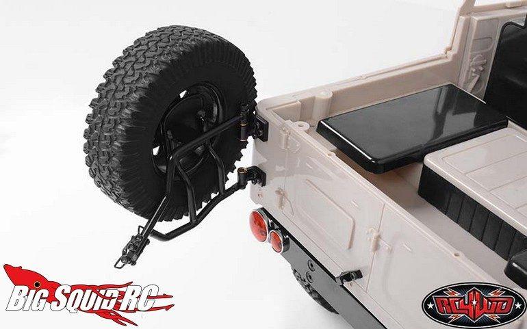 RC4WD Tough Armor Rear Tire Mount
