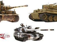 VsTank 1/24 Scale Battle Tanks