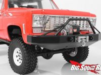 RC4WD Tough Armor Front Winch Bumper TF2 Chevy Blazer
