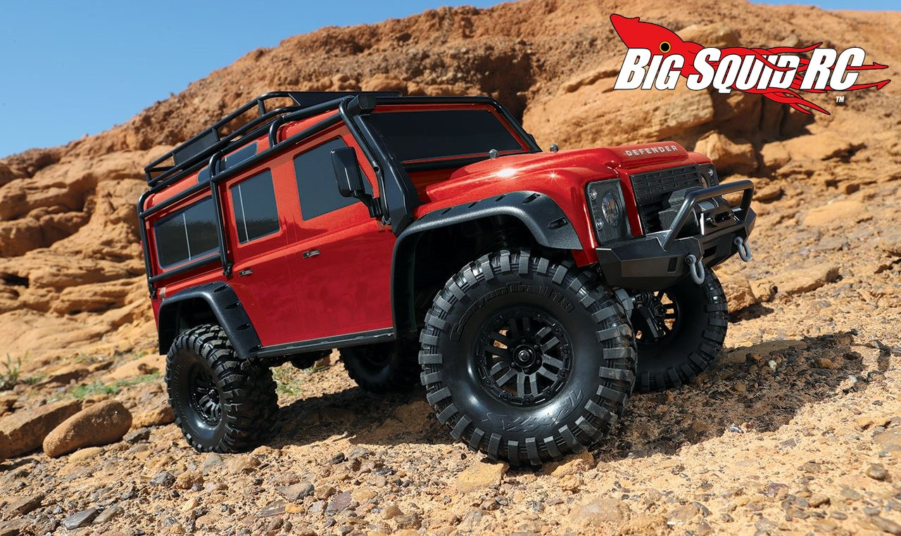 details traxxas trx 4 land rover defender big squid rc rc car and truck news reviews. Black Bedroom Furniture Sets. Home Design Ideas