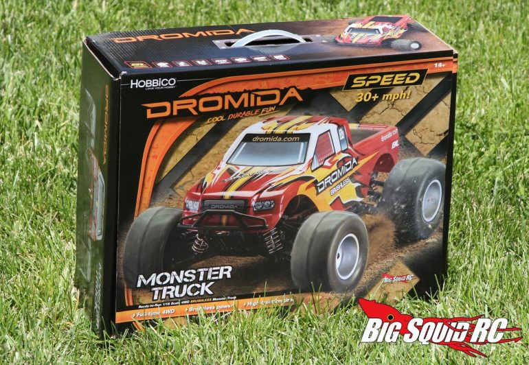 Unboxing Dromida Brushless Monster Truck