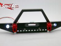 HRC Racing Aluminium Crawler Bumpers LED
