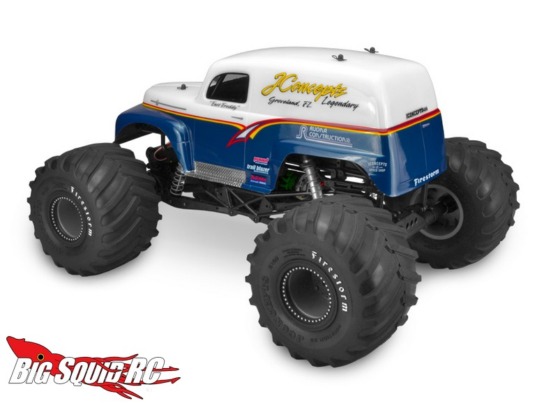 Jconcepts 1951 Ford Panel Truck Body 171 Big Squid Rc Rc