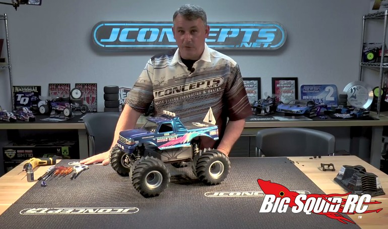 JConcepts Monster Truck Suspension Conversion For The Slash