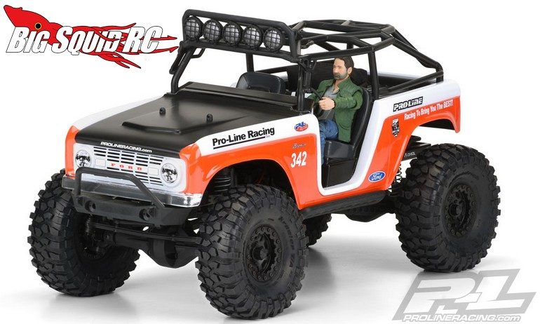 Pro-Line 1966 Ford Bronco Clear Body