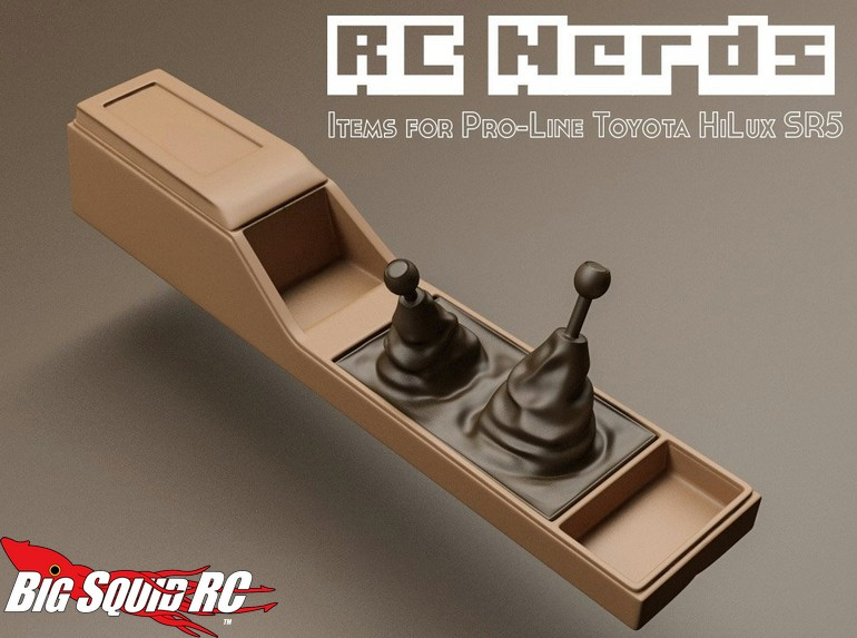 Rc Nerds Interior For The Pro Line Hilux Sr5 171 Big Squid