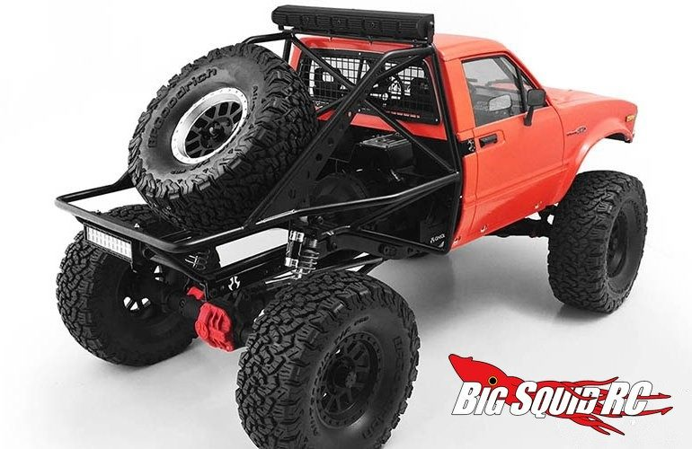 RC4WD Metal Rear Bed Interior Package Mojave SCX10