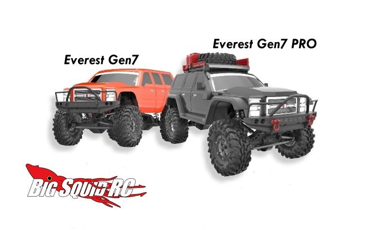 Full Details Redcat Everest Gen7 Amp Gen7 Pro Scale