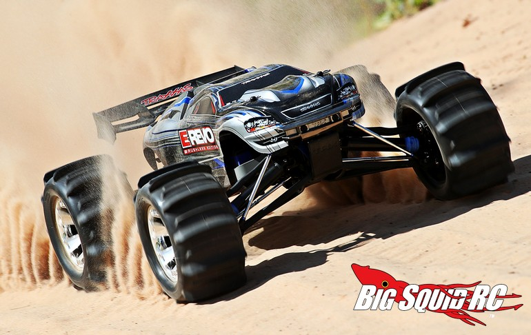 Six New Pre Mounted Paddle Tires From Traxxas 171 Big Squid