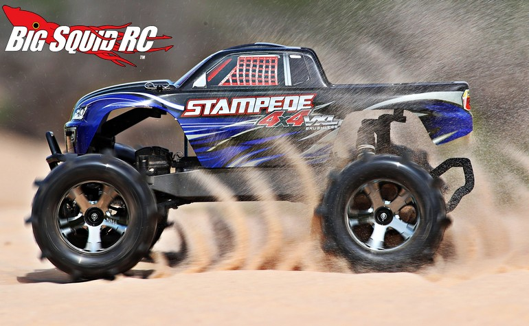 Six New Pre Mounted Paddle Tires From Traxxas Big Squid RC