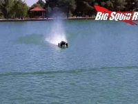 Traxxas 8S X-Maxx Hydroplane Video