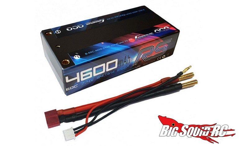 Gens ace 4600mAh 7.4V 60C Shorty LiPo