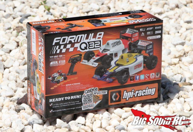 HPI Formula 1 Q32 Unboxing