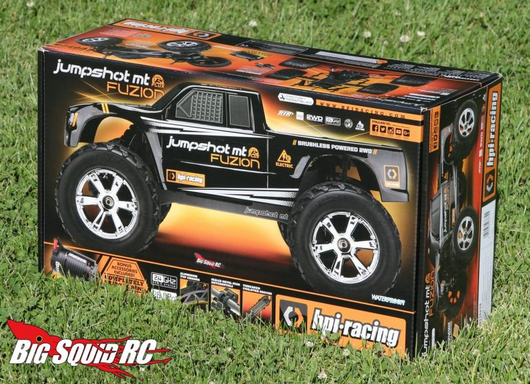 HPI Jumpshot MT Flux Fuzion Unboxing