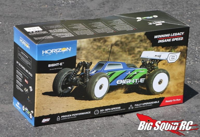 Losi 8IGHT-E Unboxing