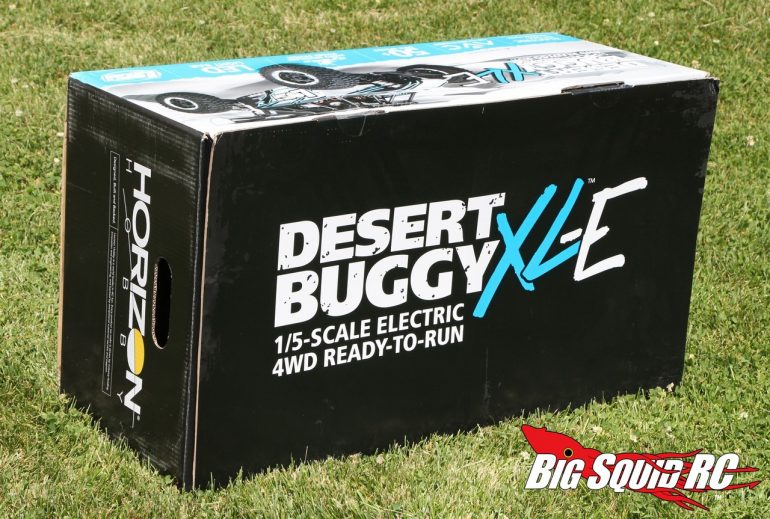 Losi Desert Buggy XL-E Unboxing