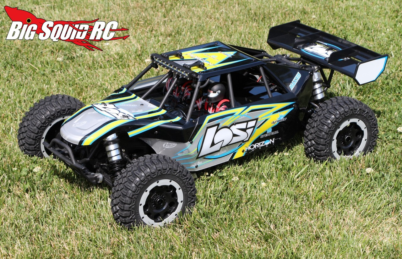 unboxing the losi desert buggy xl e big squid rc rc car and truck news reviews videos and. Black Bedroom Furniture Sets. Home Design Ideas